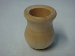 "CANDLE CUPS MINI   3/4"" DIA 1""  TALL 1/2"" HOLE"