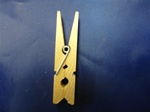 "CP-134 CLOTHES PINS MINI 1/4"" X 1-3/4"""