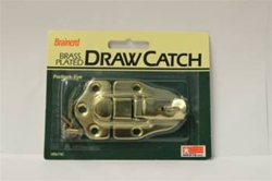 DRAW CATCH BRASS PLATED