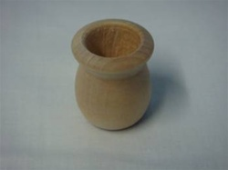 "CANDLE CUPS 1-3/8"" DIA 1-11/16 TALL 7/8"" HOLE"