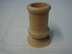 "CANDLESTICK  CLASSIC  1-5/8"" DIA 2-1/2""  TALL 7/8"" HOLE"
