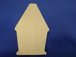 "CO-BH10 CUTOUT BIRDHOUSES 1-1/8"" WIDE X 1-1/8"" HEIGHT 1/8"" THICK"