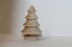 "CHRISTMAS TREE LARGE 1-3/4"" DIA X 2-3/4"" TALL"