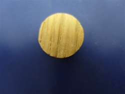 "FGP-12 1/2""  OAK PLUG FACE GRAIN (SIDE GRAIN)"