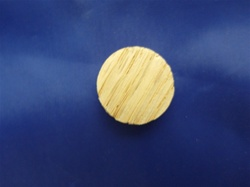 "FGP-34  3/4"" OAK PLUG FACE GRAIN (SIDE GRAIN)"