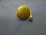 HABK-118 KNOBS HAMMERED ANTIQUE BRASS 1-1/8""