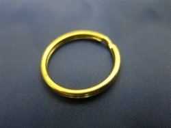 KR-22 KEY RING BRASS PLATED 22MM