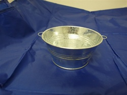 MET-6541 METAL GALVANIZED POT 5""