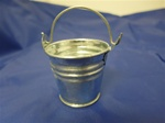 MET-B2  METAL GALVANIZED BUCKET 2""