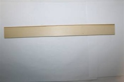 "YSS-A12 RULER BLANK SECONDS 5/32"" X 1-1/8"" 11 TO 12"""